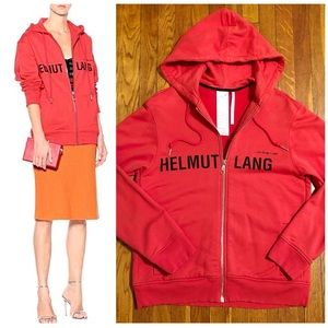 New! Helmet Lang hoodie paid $495 size authentic!
